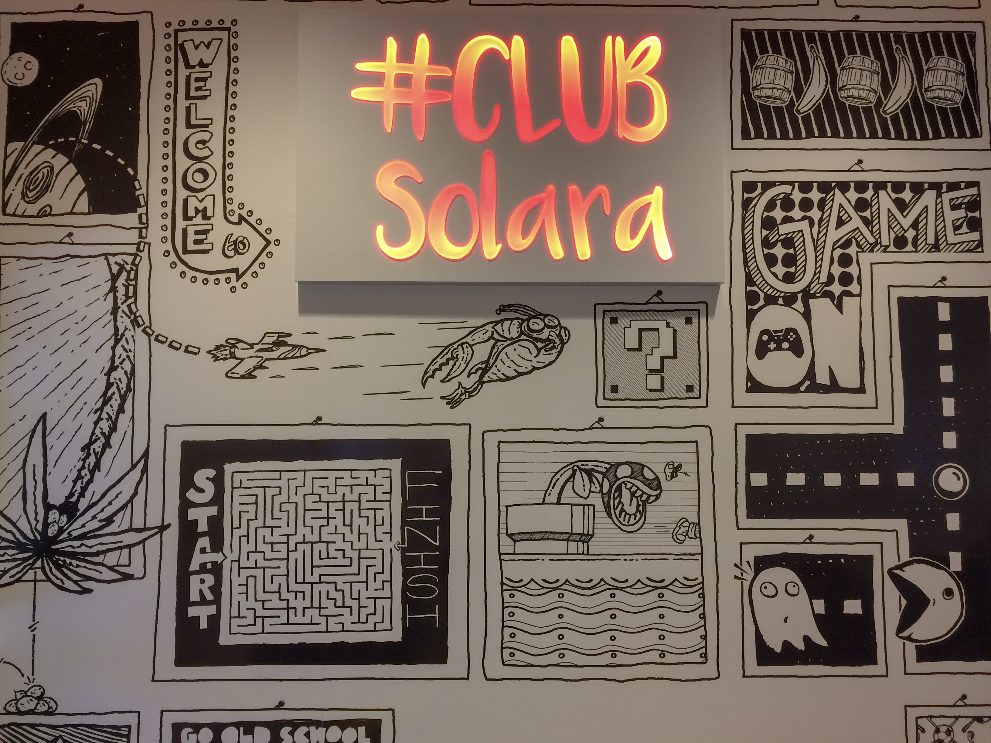 Club Solara and the Teen Room