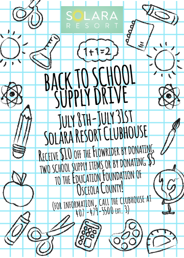 Solara School Supply Drive